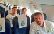 صور/المنتخب الأرجنتيني يحل بطنجة قادماً من مدريد لمواجهة الأسود