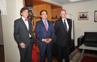 زعيم الحزب الإشتراكي البلجيكي يلتقي وزير الجالية بالرباط