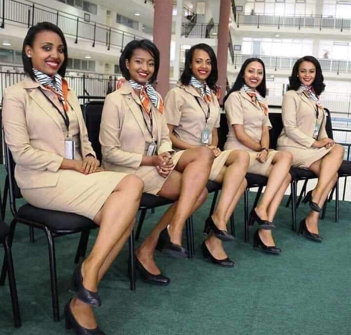 هذا طاقم مُضيفات الطائرة الإثيوبية المنكوبة وسط تساؤلات حول طراز 737 Max من طائرات بوينغ