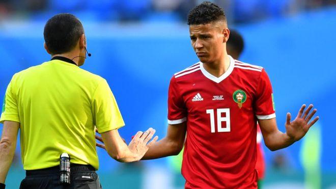 أمين حاريث يغيب عن المنتخب الوطني بسبب الاصابة