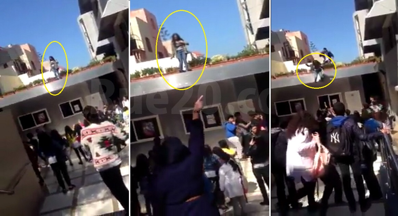 فيديو/تلميذة تقفز من سطح مؤسسة خصوصية بمدينة المحمدية