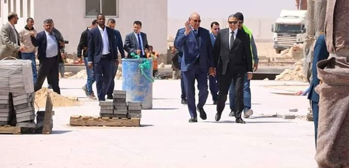 صور/والي العيون الجديد يتفقد المشاريع التنموية و البنية التحتية بعاصمة الصحراء