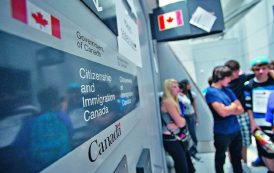 كندا تستقبل 300 ألف مهاجر عام 2018 في سابقة منذ خمسينيات القرن الماضي