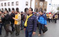 تعنت العثماني مع أساتذة الكُونطرا يُخرجُ ألاف المعطلين حاملي الشواهد للإحتجاج والمطالبة بالتعويض عن البطالة