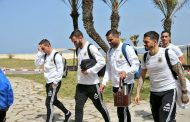 صور/المنتخب الأرجنتيني يصل طنجة ويجري حصة تدريبية بملعب إبن بطوطة