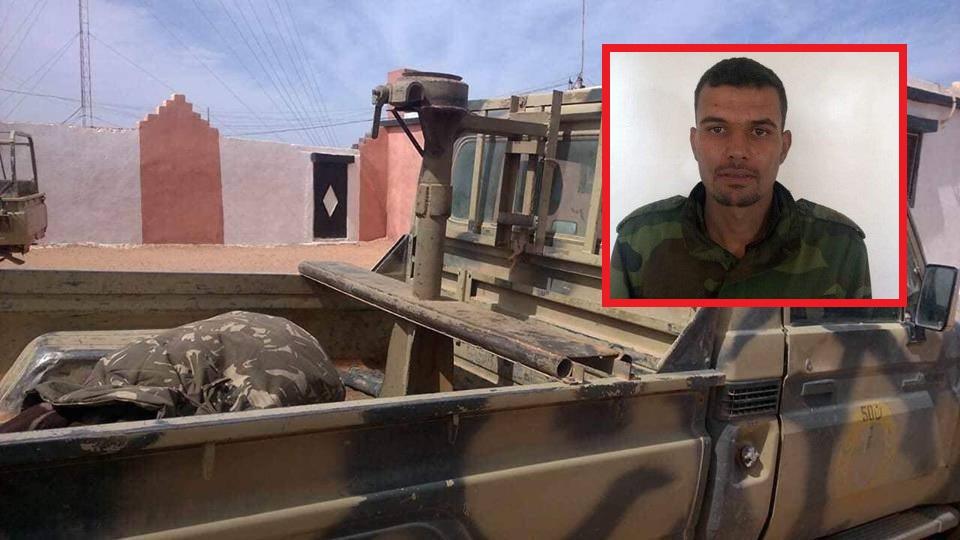 صور/ البوليساريو تعترف بانشقاق جندي و فراره إلى المغرب !