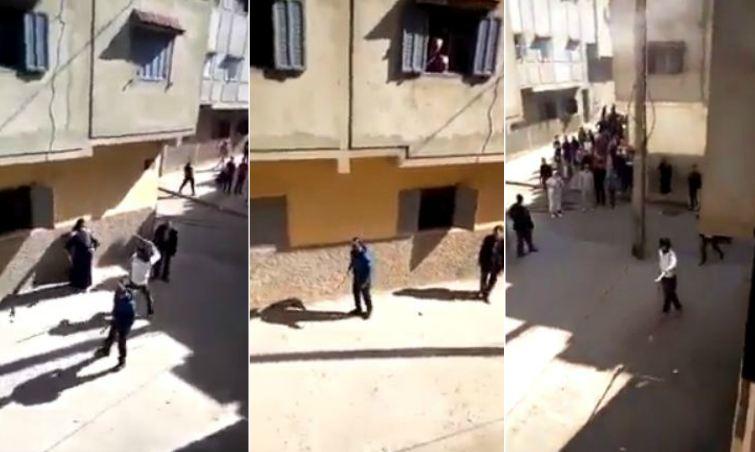 فيديو/ عراك بالسيوف وسط حي شعبي بسلا في غياب الأمن !