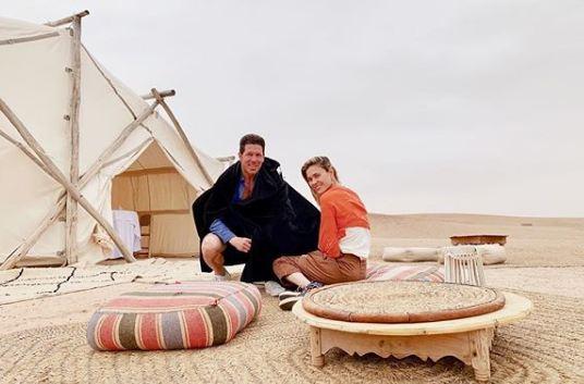 صور/ الأرجنتيني سيميوني يحل بالمغرب رفقة زوجته تزامناً مع تواجد منتخب 'التانغو' بطنجة !