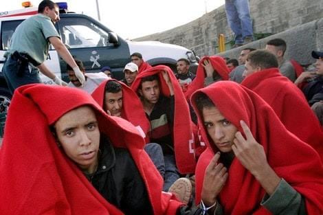 سلطات مليلية تستعد لترحيل طالبي اللجوء المغاربة !