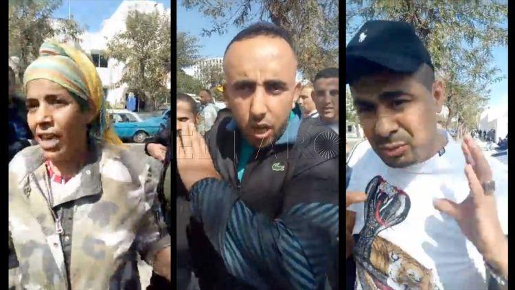 """فيديو/ احتجاجات عارمة على جمارك معبر سبتة بعد منعها لـ""""التهريب المعيشي"""" !"""