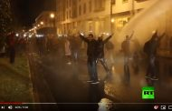 فيديو | ليلة رش و تعنيف أساتذة التعاقد بالرباط على قناة روسية !
