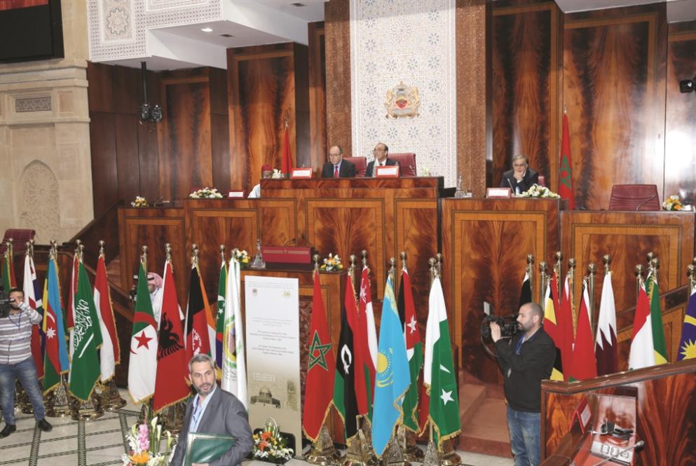 إيران تشعل حرباً بين الدول العربية في اجتماع منظمة التعاون الإسلامي بالرباط و الوفد اللبناني ينسحب !