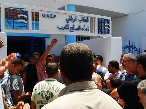 اعتقال مسؤول في لـONEP بالناظور متورط في سرقة عدادات الماء من منازل المواطنين !