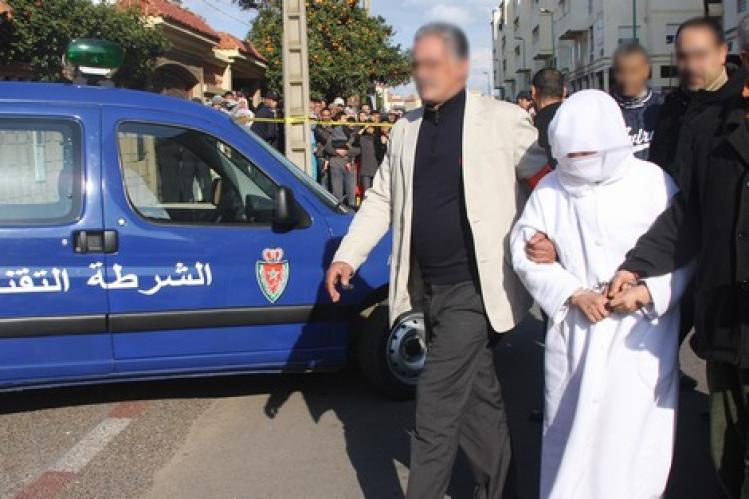 إعتقال سبعينية رئيسة عصابة إجرامية بالجديدة !