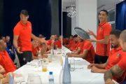فيديو   فيصل فجر و التكناوتي يشعلان أجواء حماسية داخل معسكر الأسود !