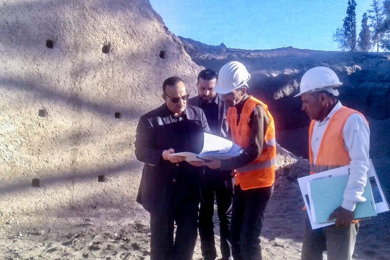 وزير الثقافة والاتصال يتفقدُ شخصياً أشغال ترميم عدد من المآثر التاريخية بإقليم الحسيمة لإفتتاحها كمواقع سياحية للزوار