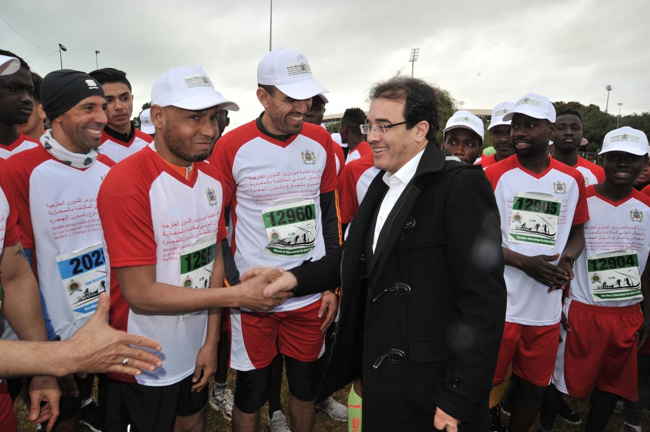 وزارة الجالية تُكونُ فريقاً من 50 من أفراد الجاليات الأجنبي بالمغرب للمشاركة في ماراطون الرباط الدولي