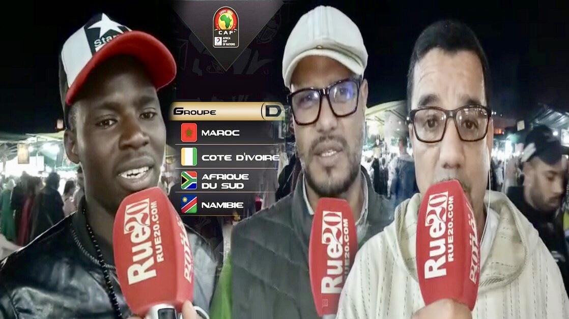 فيديو/مراكشيون: القرعة أوقعت المغرب في مجموعة صعبة بكأس أفريقيا وحنا مخايفينش عندنا منتخب قوي
