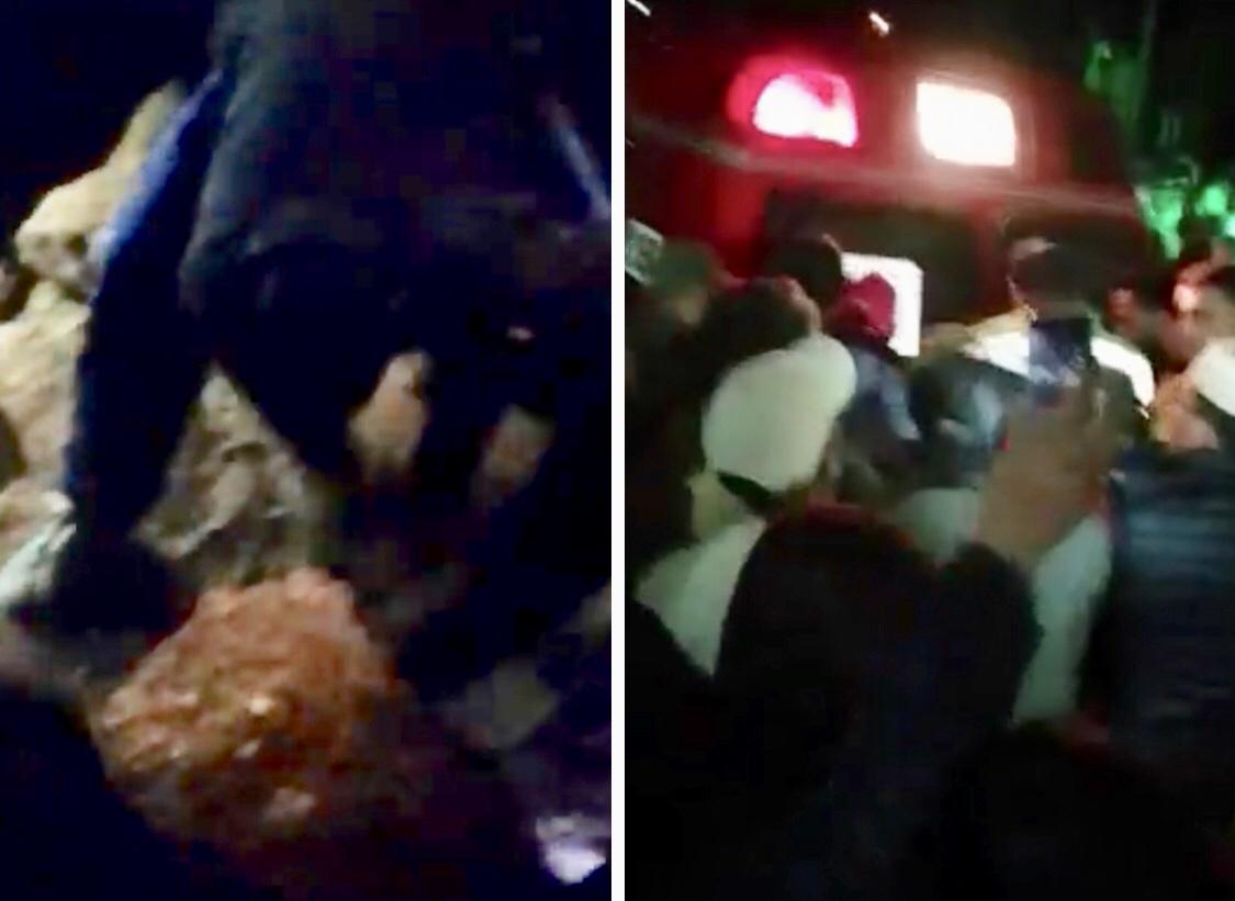 فيديو/في حادث غريب بابن أحمد..إستخراج سيدة توفيت قبل أسبوع من قبرها بعد سماع أنينها