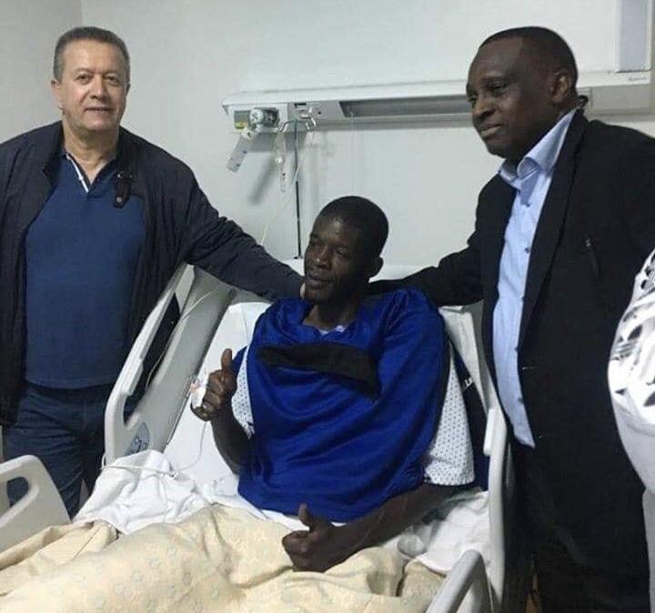 الاتحاد الغيني يشكر الجامعة الملكية المغربية لكرة القدم على تكفلها بإستشفاء حارس مرمى 'حوريا كوناكري'