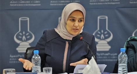 ڤِـيتو للعثماني والرميد والحقاوي يطيح بزوجة 'حمي الدين' من منصب نائبة رئيس مجلس النواب