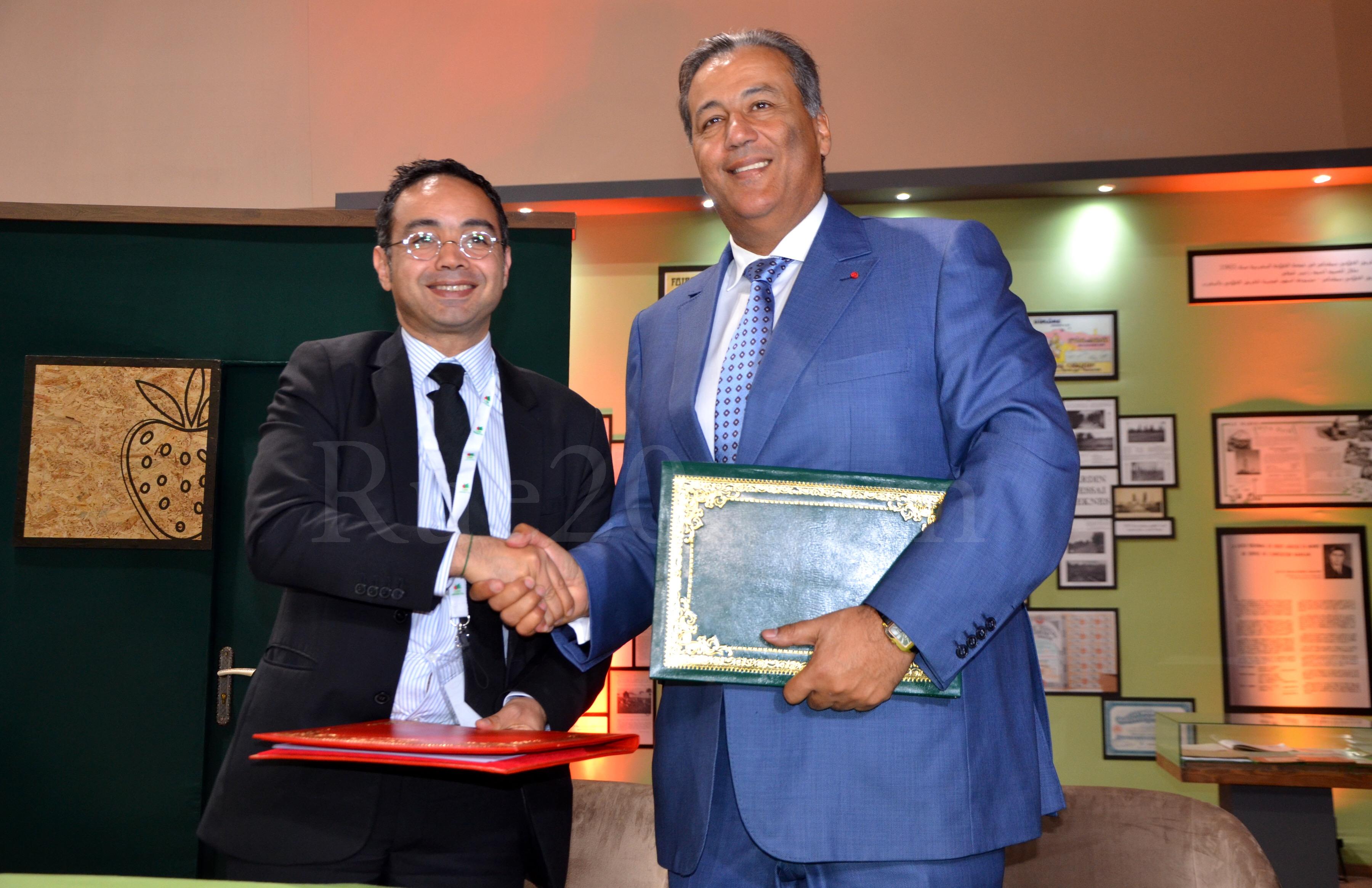 التوقيع بمكناس على إتفاقية تمويل إستثمارات التنمية المستدامة بين القرض الفلاحي والوكالة الفرنسية للتنمية