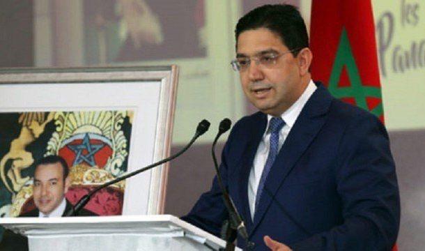المغرب يعلن رفضه لتصعيد 'حفتر' العسكري في ليبيا في إستقبال بوريطة لمبعوث 'السراج'