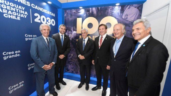 الشيلي تعلن رسمياً إنضمامها للأرجنتين والأوروغواي والبرغواي للترشح لتنظيم مونديال 2030