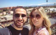 صور/ عارضة أزياء شقراء تخطف قلب نجم ريال مدريد كارفاخال بمراكش !