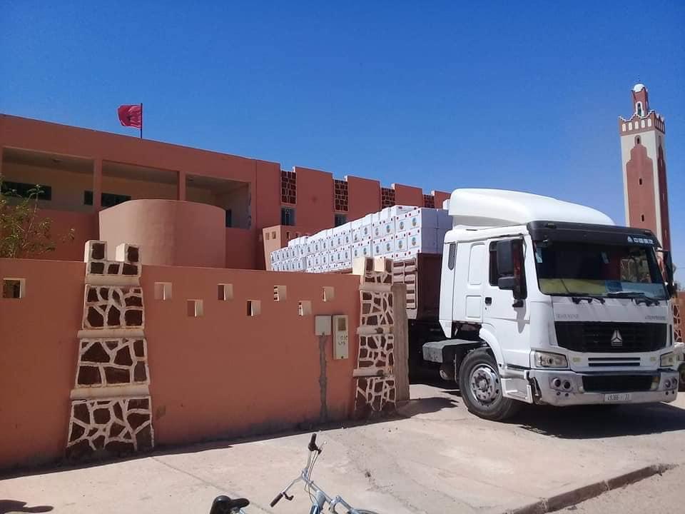 صور/ قطر تشحن أطنان المساعدات الرمضانية لتوزيعها على فقراء آسا الزاك !