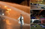 صور و فيديو/ تفاصيل ليلة في الجحيم عاشها أساتذة التعاقد وسط شوارع الرباط !