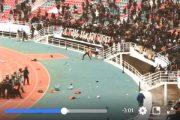 فيديو   أعمال شغب عنيفة بمركب مولاي عبد الله بالرباط !