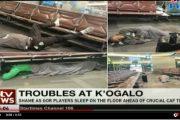 فيديو   لعدم توفرهم على المال للسفر إلى المغرب.. لاعبو فريق كيني ينامون على الأرض بالمطار !