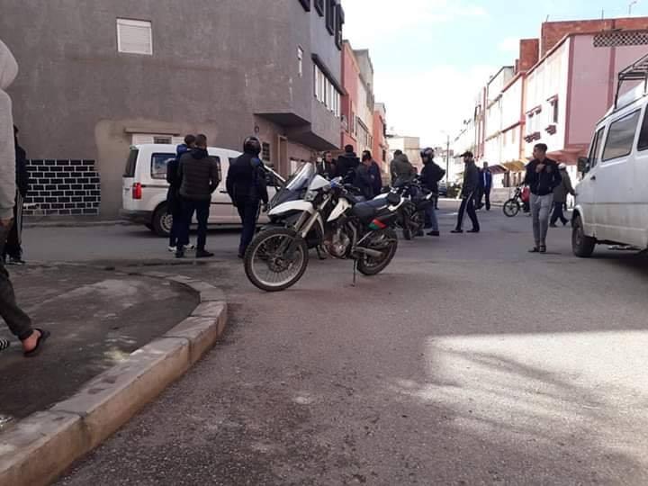 لصوص يقتحمون كوميسارية بالقنيطرة و يسرقون دراجة نارية و حواسيب !
