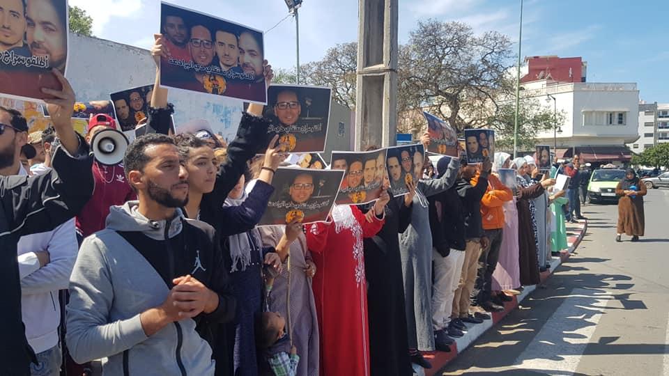 أربعة محتجين ضد انقطاع الكهرباء في المحمدية يمثلون أمام المحكمة و احتجاجات لإطلاق سراحهم !