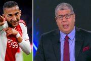 فيديو   المصري شوبير يتمنى إصابة زياش و غيابه عن كأس إفريقيا !