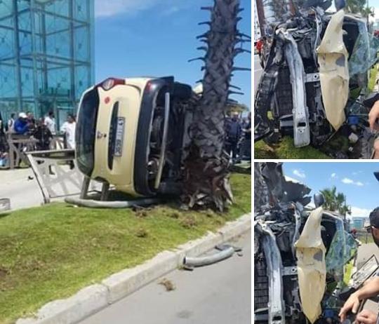 صور/ مصرع شخص و إصابة 4 آخرين في حادث سير مروع بطنجة !