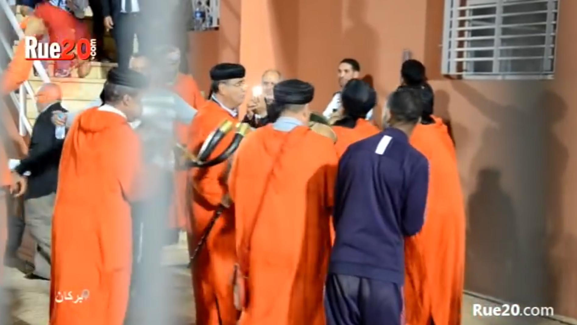 فيديو/إحتفالات صاخبة لجماهير بركان بالرگادة بعد الفوز على الزمالك المصري