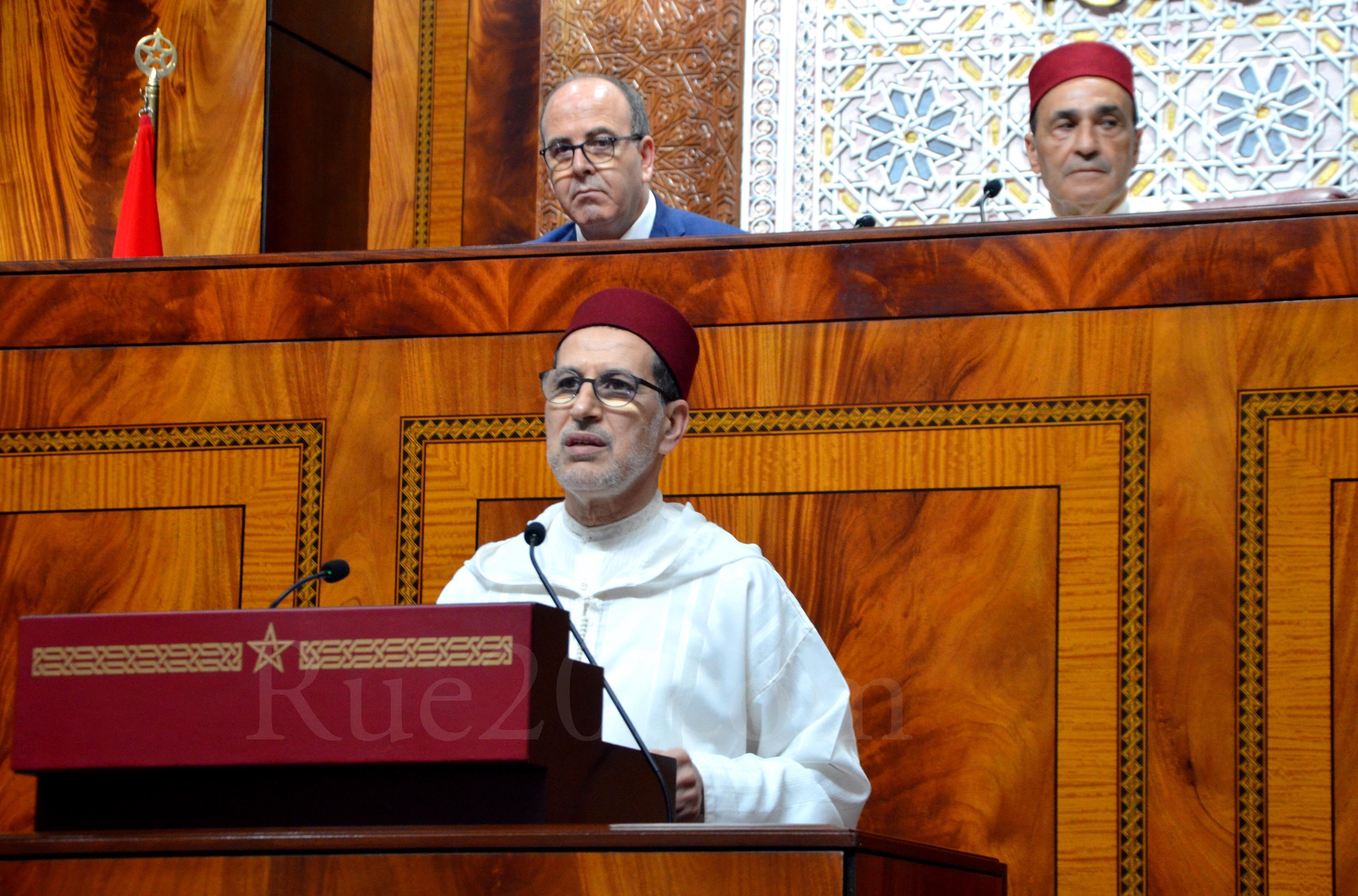 العثماني يحل بمجلس المستشارين للإجابة على السياسات العامة للحكومة