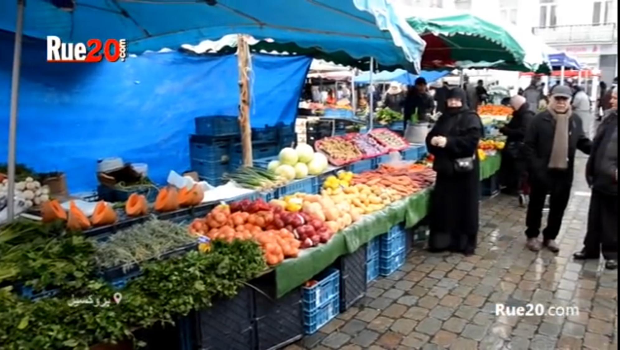فيديو/أجواء مغربية بأسواق بروكسيل الشعبية