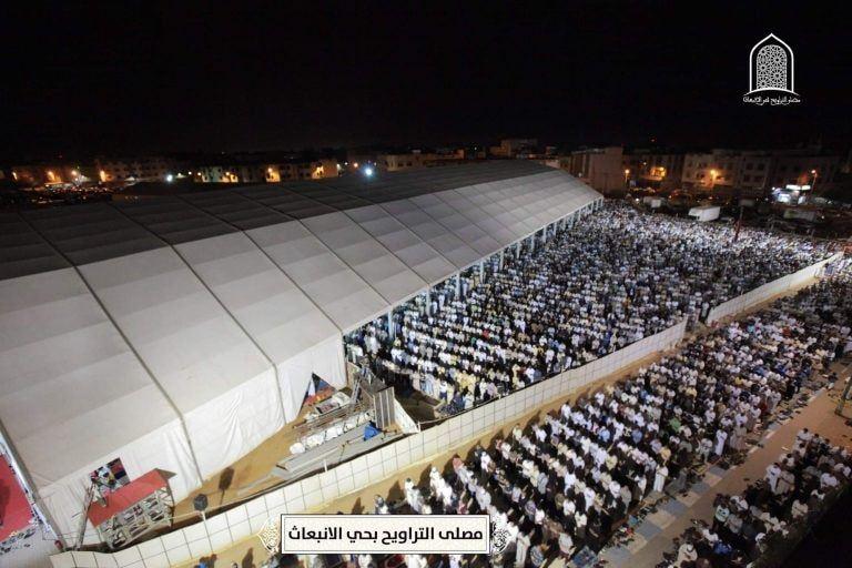 """صور/ 30 ألف مصل يحجون إلى مصلى """"الإنبعاث"""" بسلا !"""