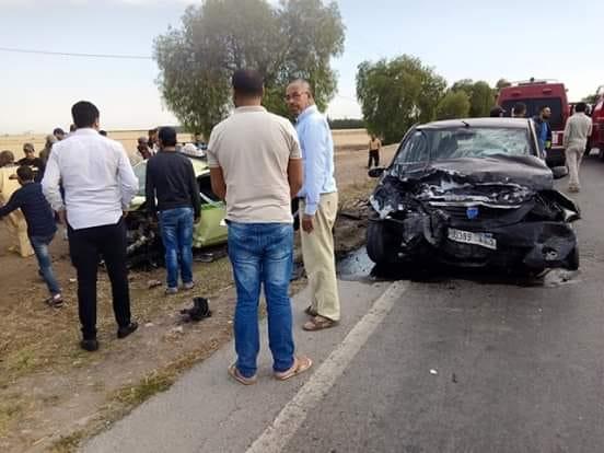 مصرع شخص في حادثة سير مروعة ببني درار (وجدة) !