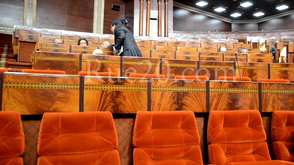 صور/ عزوف برلماني عن مناقشة حصيلة حكومة العثماني !