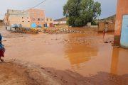 فيديو | أمطار رعدية غزيرة تهطل على تزنيت !
