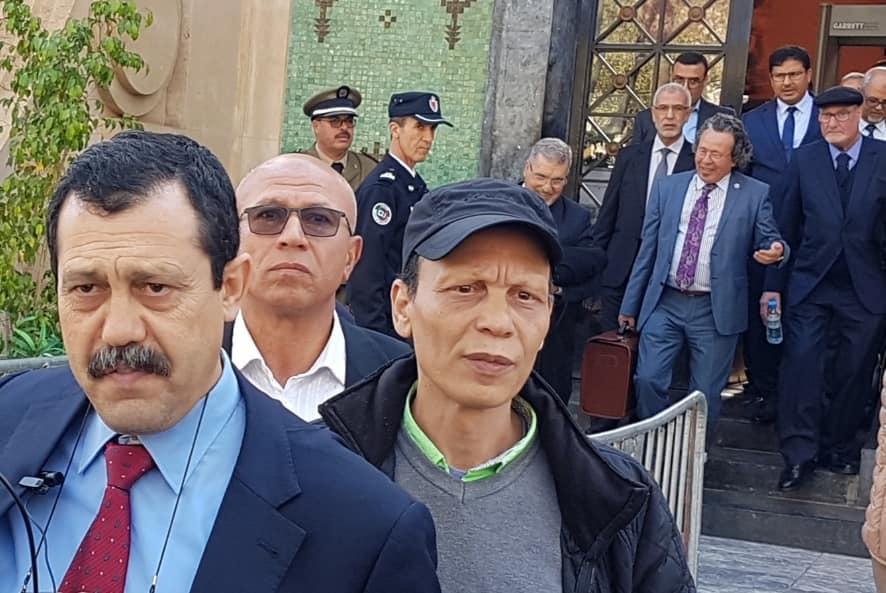 """قربلة في محاكمة حمي الدين .. محامي آيت الجيد يصفه بـ""""الشيطان"""" و القاضي يرفع الجلسة !"""