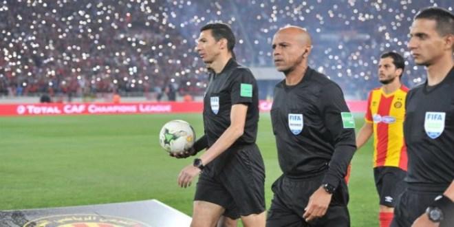 المصري جريشة يقود مباراة تحديد المركز الثالث والكاف يوزع الميداليات بعد نهاية المباراة
