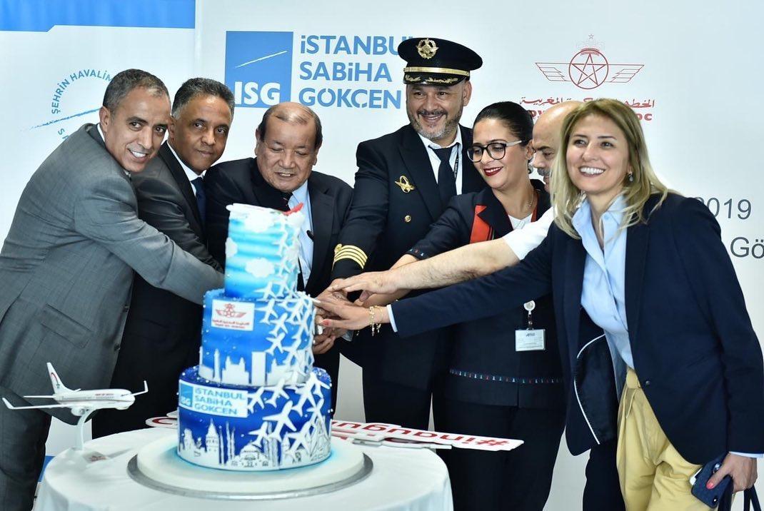 لارام تدشن خطاً جوياً جديداً يربط الدارالبيضاء بمطار إسطنبول صبيحة الأسيوي
