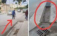 السيبة. لصوص يسرقون بالُوعات شوارع القنيطرة في واضحة النهار