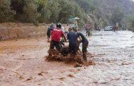 نشرة خاصة. أمطار عاصفية قوية وسط توقع فيضانات بعدة مدن