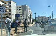 صور/بوُجود الشرطة..سائقو سيارات الأجرة يُشوهون أكبر محطة قطار في أفريقيا